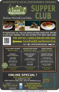 Spring Supper Club Events